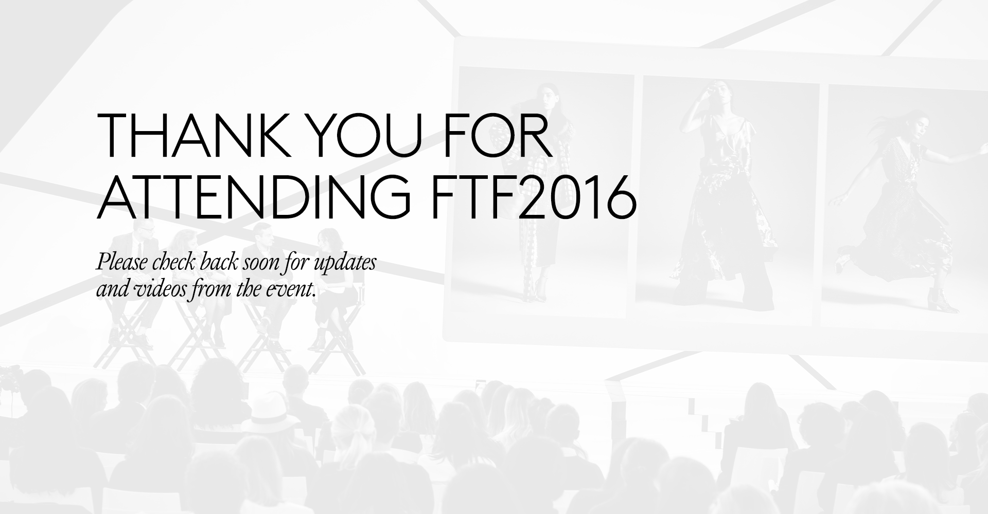 Fashion Tech Forum 2016